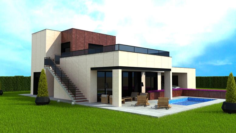 Casas exclusivas de lujo coleccion dinamico avymom Modelo de viviendas para construir